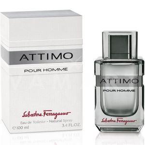 Salvatore Ferragamo Attimo Pour Homme Eau de Toilette 100ml мъжки без опаковка