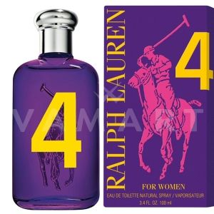 Ralph Lauren Big Pony 4 Eau de Toilette 100ml дамски без опаковка