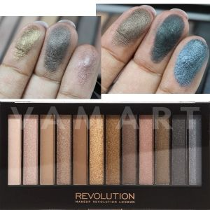 Makeup Revolution London Redemption Palette Iconic 1 Палитра сенки 12 цвята