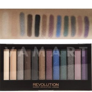 Makeup Revolution London Redemption Palette Hot Smoked Палитра сенки 12 цвята