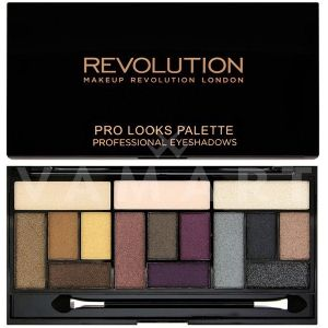 Makeup Revolution London Pro Looks Big Love Palette Палитра сенки 15 цвята