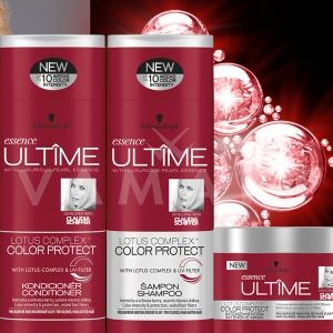 Schwarzkopf Essence Ultime Lotus Complex+ Color Protect Маска за боядисана или на кичури коса 200ml