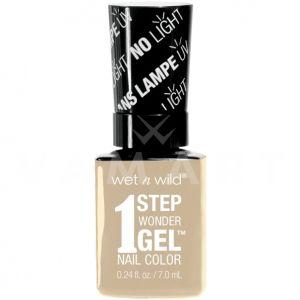 Wet n Wild Гел Лак за нокти 1 Step WonderGel Nail Color 7191 Condensed Milk