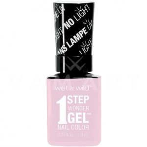 Wet n Wild Гел Лак за нокти 1 Step WonderGel Nail Color 7211 Pinky Swear