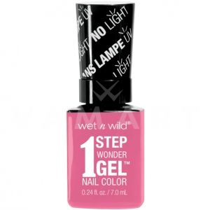 Wet n Wild Гел Лак за нокти 1 Step WonderGel Nail Color 7222 Missy in Pink