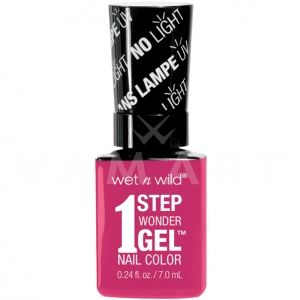 Wet n Wild Гел Лак за нокти 1 Step WonderGel Nail Color 7231 It's Sher-Bert Day!