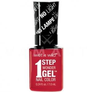 Wet n Wild Гел Лак за нокти 1 Step WonderGel Nail Color 7241 Crime of Passion