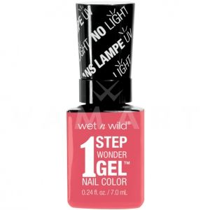 Wet n Wild Гел Лак за нокти 1 Step WonderGel Nail Color 7251 Coral Support