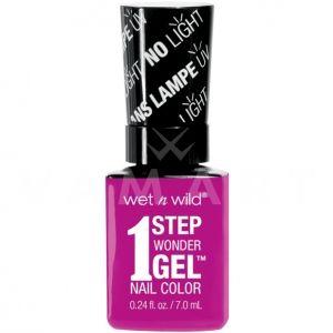 Wet n Wild Гел Лак за нокти 1 Step WonderGel Nail Color 7271 Bye Feluschia!