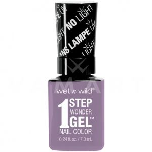 Wet n Wild Гел Лак за нокти 1 Step WonderGel Nail Color 7281 Lavender Out Loud