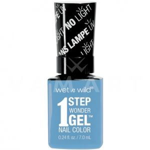 Wet n Wild Гел Лак за нокти 1 Step WonderGel Nail Color 7291 Peri-wink-le of an Eye