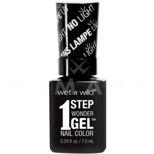 Wet n Wild Гел Лак за нокти 1 Step WonderGel Nail Color 7351 Power Outage