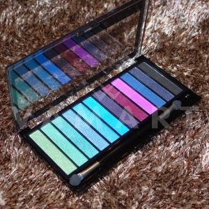 Makeup Revolution London Redemption Palette Mermaids vs Unicorns Палитра сенки 12 цвята