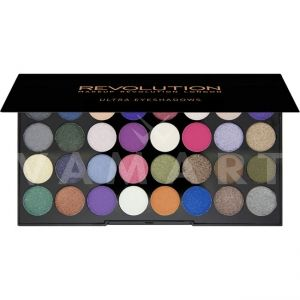Makeup Revolution London Ultra 32 Shade Eyes Like Angels Palette Палитра сенки 32 цвята