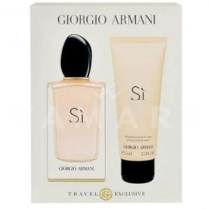 Armani Si Eau de Parfum 100ml + Body Lotion 75ml дамски комплект