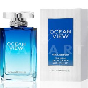 Karl Lagerfeld Ocean View for Men Eau de Toilette 100ml мъжки без опаковка