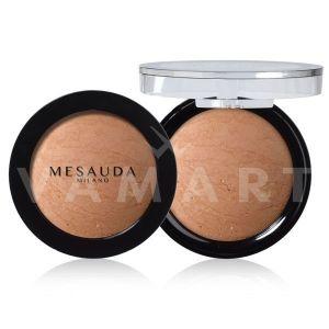 Mesauda Milano Desert Sand Baked Bronzing Powder 01 Light Golden Beige