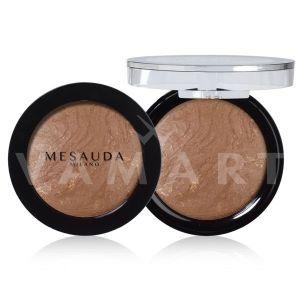 Mesauda Milano Desert Sand Baked Bronzing Powder 04 Golden Dark Beige