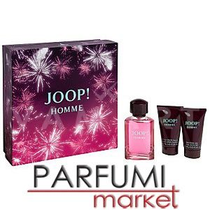Joop! Pour Homme Eau de Toilette 75ml + After Shave Balm 50ml + Shower Gel 50ml мъжки комплект