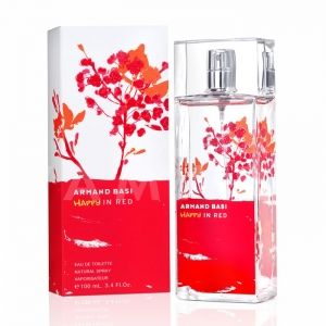 Armand Basi Happy in Red Eau de Toilette 100ml дамски