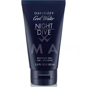 Davidoff Cool Water Night Dive Woman Shower Gel 150ml дамски