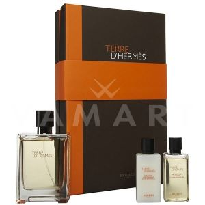 Hermes Terre d'Hermes Eau de Toilette 100ml + Shower Gel 40ml + After Shave Balm 40ml мъжки комплект