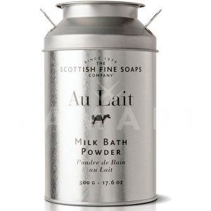 Scottish Fine Soaps Au Lait Milk Bath Powder 500g Пудра за вана