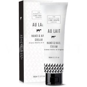 Scottish Fine Soaps Au Lait Hand and Nail Cream 100ml Крем за ръце и нокти с млечен протеин