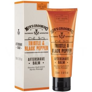 Scottish Fine Soaps Thistle & Black Pepper Aftershave Balm 75ml Афтър шейв балсам