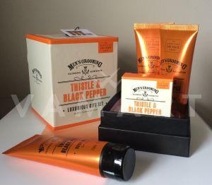 Scottish Fine Soaps Thistle & Black Pepper Мъжки козметичен комплект 4 продукта