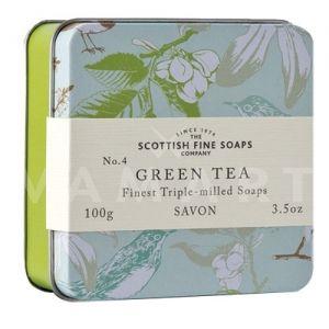 Scottish Fine Soaps Сапун в метална кутия Green Tea 100g
