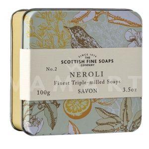 Scottish Fine Soaps Сапун в метална кутия Neroli 100g