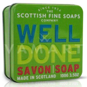 Scottish Fine Soaps Сапун в метална кутия Well Done 100g
