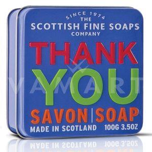 Scottish Fine Soaps Сапун в метална кутия Thank You 100g