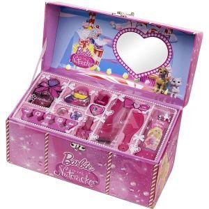 Markwins Barbie Куфарче с грим Детски козметичен комплект + ПОДАРЪК  Чанта