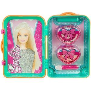 Markwins Barbie Fab Mini Trolley Детски козметичен комплект за устни