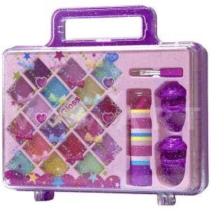 Markwins POP Lip-ity Case Purple Детски козметичен комплект