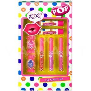 Markwins POP Lip Gloss Set Детски козметичен комплект