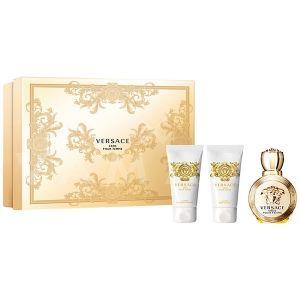Versace Eros Pour Femme Eau de Parfum 50ml + Shower Gel 50ml + Body Lotion 50ml дамски комплект