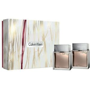 Calvin Klein Euphoria Men Eau de Toilette 100ml + After Shave Splash 100ml мъжки комплект
