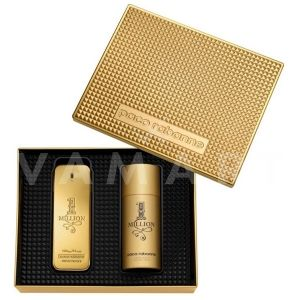Paco Rabanne 1 Million Eau de Toilette 100ml + Deodorant Spray 150ml мъжки комплект