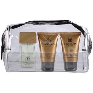 Trussardi My Land Eau de Toilette 30ml + Shampoo & Shower Gel 30ml + After Shave Balm 30ml + Несесер мъжки комплект