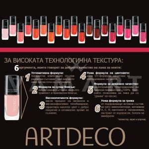 Artdeco Art Couture Nail Lacquer Лак за нокти 720 pink water lily