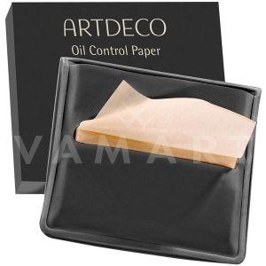 Artdeco Oil Control Paper Матиращи кърпички с пудра 100 броя