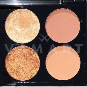 Makeup Revolution London Ultra Blush Palette Golden Sugar 2 Палитра ружове 8 цвята