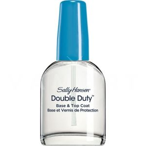 Sally Hansen Double Duty Strengthening Base & Top Coat База и Топ лак за нокти