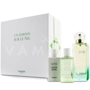 Hermes Un Jardin Sur Le Nil Eau de Toilette 100ml + Body Lotion 40ml + Shower Gel 40ml унисекс комплект