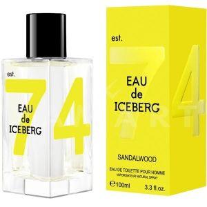 Iceberg Eau de Iceberg Sandalwood Eau de Toilette 100ml мъжки без опаковка