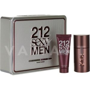 Carolina Herrera 212 Sexy Men Eau de Toilette 100ml + Shower Gel 100ml мъжки комплект