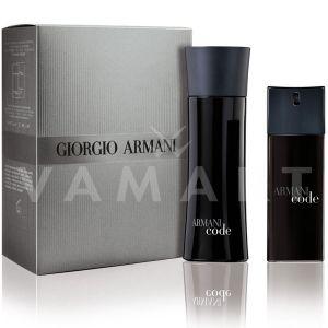 Armani Code Pour Homme Eau de Toilette 75ml + Eau de Toilette 20ml мъжки комплект